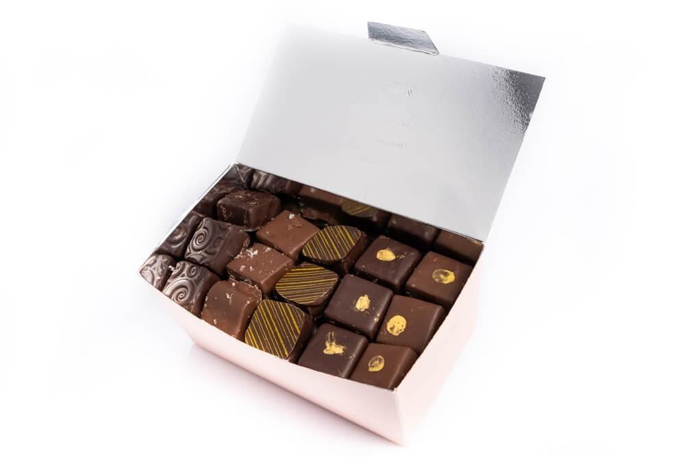 Ballotin de chocolats by Amandine Chocolatier