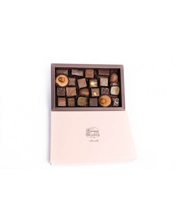 Coffret de chocolats by Amandine Chocolatier